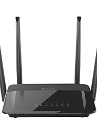 DLINK DIR-822 wifi wireless router 2.4G/5Ghz 1200Mbs gigabit wifi household wall support optical fiber home ROUTER