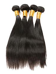 8A Grade Brazilian Virgin Hair Straight 4 Bundle Deals Human Hair Bundles Brazillian Straight Hair Brazilian Hair Weave Bundles