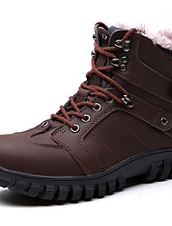 Hiking Shoes Men's Boots Spring / Fall / Winter Comfort Nappa Leather Outdoor / Athletic / Casual Black / Brown  / Sneaker