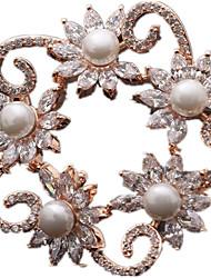 argent or des femmes Broches bijoux 1pc