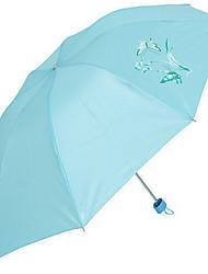Azul / Rosa Sapatos de Chuva Ensolarado e chuvoso Plastic Viagem
