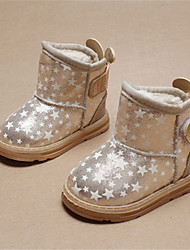 Girl's Boots Winter Comfort Glitter Casual Pink / Gold