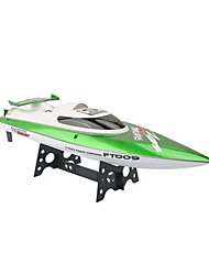 Speedboat 飞轮 FT009 Racing RC Boat Brush Electric 2.4G 2.4G 30KM ABS Orange / Cyan