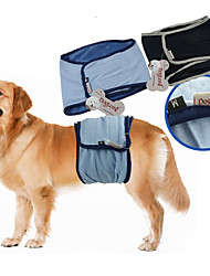 Perro Pantalones Ropa para Perro Casual/Diario Sólido Negro Azul