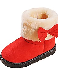 Girl's Shoes Libo New Style Hot Sale Casual / Outdoors Comfort Fashion Warm Snow Boots Fuchsia / Red / Brown / Black