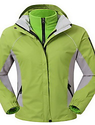 Hiking Tops Women's Waterproof / Thermal / Warm / Windproof / Comfortable / Thick Spring / Fall/Autumn / Winter Cotton / TeryleneYellow /