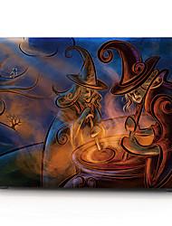 Halloween motif de sorcière boîtier de l'ordinateur macbook pour macbook air11 / 13 pro13 / 15 pro avec retina13 / 15 macbook12