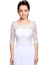 Kids' Wraps Shrugs Lace Wedding Party/Evening Lace