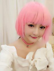 Lolita Wigs Sweet Lolita Lolita Bob Pink Lolita Wig CM Cosplay Wigs For Women