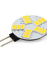 3W G4 Luminárias de LED  Duplo-Pin T 15 SMD 5730 210 lm Branco Quente / Branco Frio V 1 pç