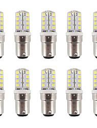 BA15D LED à Double Broches T 32 SMD 2835 200-220 lm Blanc Chaud / Blanc Froid Gradable / Etanches AC 100-240 V 10 pièces