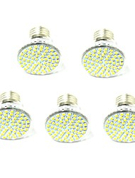 5 PCS Senza fili Others E27 led 60 SMD2835 AC220V / 110 v 800 Lm Warm White Neutral White Lamp Cup Other