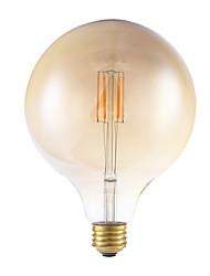 3.5 E26 Ampoules à Filament LED G125 4 COB 300 lm Blanc Chaud Gradable AC 110-130 V 1 pièce
