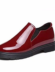 Women's Loafers & Slip-Ons Spring / Fall Comfort Patent Leather Casual Low Heel Others Black / Burgundy Others