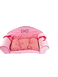 Dog Bed Pet Mats & Pads Pink Plush