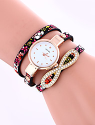 Women's Bracelet Watch Quartz Leather Band Butterfly Black Blue Grey Brand