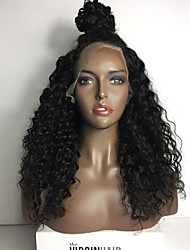 Glueless Lace Front Human Hair Wig Afro Kinky Curly Wig 8A Brazilian Virgin Human Hair Wigs For Women