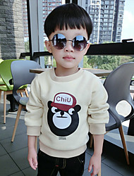 Boy Going out Print Hoodie & Sweatshirt,Cotton Fall