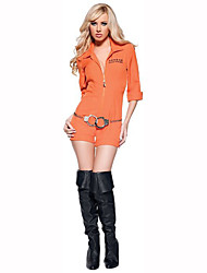 Cosplay Costumes Party Costume Soldier/Warrior Career Costumes Festival/Holiday Halloween Costumes Print Leotard/Onesie Halloween Carnival