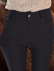 plus Samt Leggings Außen tragen schwarze Hosen-Bleistifthosen weibliche Füße Hosen Frauen&# 39; s Hose