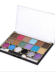 18 Eyeshadow Palette Dry Eyeshadow palette Cream Normal Daily Makeup
