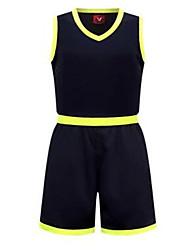 Homens Sem Mangas Exercício e Atividade Física Esportes Relaxantes Badminton Basquete Corrida Conjuntos de Roupas/Ternos Shorts Baggy