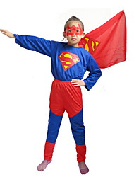 Halloween Children 'S Performance Costumes Children' S Superman Prom Dresses