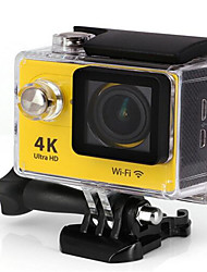 H9R Action Kamera / Sport-Kamera 16MP 4000 x 3000 Wifi / Wasserdicht / Einstellbar / Kabellos 30fps 4X ± 2 EV 2 CMOS 32 GB H.264
