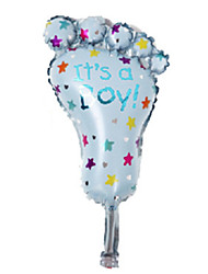 Balloons Holiday Supplies Aluminium Blue / Pink For Boys / For Girls 5 to 7 Years / 8 to 13 Years