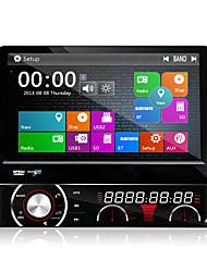 7 pulgadas 1 din Win8 sistema de coches reproductor de DVD multimedia ui gps navi mtk3360 sentaron dj7090lt universal, ex-3g ex-tv