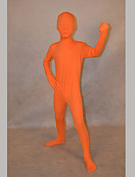 Festival/Holiday Costumes Orange Solid Zentai Kid Lycra Fully Covered