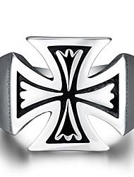 Ringe Ohne Stein Normal Schmuck Stahl Herren Ring 1 Stück,8 9 10 11 Silber