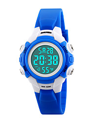 Skmei®Children Fashion LED Digital Casual Wrist Watch PU Strap Assorted Colors