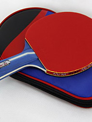 3 Stars Table Tennis Rackets Ping Pang Wood Long Handle Pimples Indoor-#