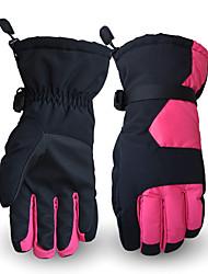 Ski Gloves Winter Gloves Women's Men's Activity/ Sports Gloves Keep Warm Snowproof Ski & Snowboard PU Ski Gloves Winter