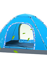 Moistureproof/Moisture Permeability Breathability Quick Dry Well-ventilated Foldable Keep Warm One Room Tent Blue