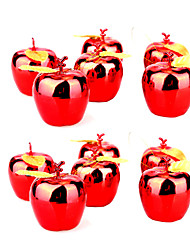 Christmas Decorations / Christmas Party Supplies Holiday Supplies Apple Plastic Red / Gold Above 3