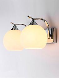 ac 220-240 6w e27 fonction electroplated moderne / contemporaine pour led / mini style / ampoule incluse / protection des yeux, ambient