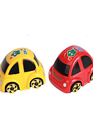 Wind-up Toy Leisure Hobby Toys Novelty Car Plastic Red Yellow For Boys For Girls Random Color