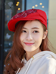The New British Style Women 'S Embroidered Lace Cap Cap Fashion Berets
