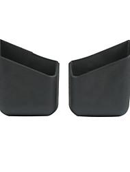 boîte de rangement de voiture multifonction de type pâte boîte de débris boîte de rangement paires mobiles universelles (couleurs