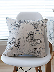 1 pcs Cotton Pillow Case,Graphic Prints Modern/Contemporary / Casual