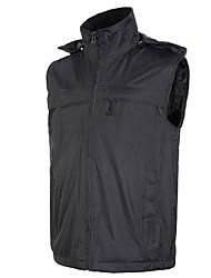 Men's Women's Hiking Vest Waterproof Thermal / Warm Windproof Fleece Lining Vest/Gilet Tracksuit Coveralls for Skiing Camping / Hiking
