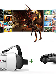 VR 3D Glasses 1.0 Version Virtual Reality Video Movie Game Glasses Headset with Bluetooth Remote Controller