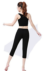 Women's Sleeveless Running Tights Tank Clothing Sets/Suits Limits Bacteria Soft Comfortable Spring Summer Sports WearYoga Exercise &
