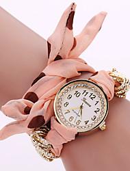 Women Cloth Point Belt Dress Watches Fashion Simple European Style Ladies Watches Bracelet Watch Watch Women Casual
