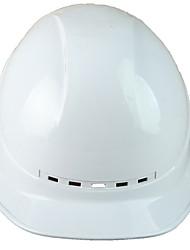 capacetes de luxo respirável superfície do ABS capacetes de segurança de material do site anti-esmagamento
