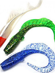 1 pcs Grub Soft Bait Fishing Lures Soft Bait Random Colors Soft Plastic Sea Fishing