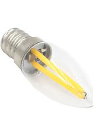 1.5W E12 LED Kugelbirnen T 2 COB 100-120 lm Warmes Weiß Dekorativ AC 220-240 V 1 Stück