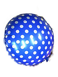 Balloons Holiday Supplies Circular Rubber Blue For Boys / For Girls 2 to 4 Years / 5 to 7 Years